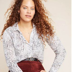 NEW! Anthropologie Cloth & Stone Snake Top